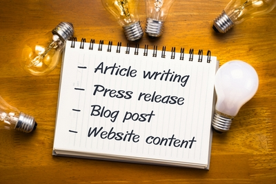 Using articles in your marketing