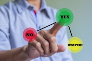 Client decision making web