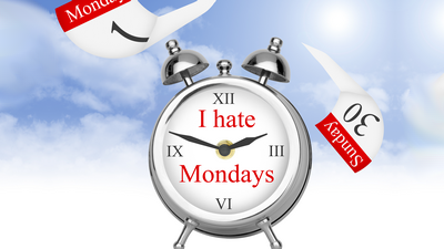 never hate Mondays again
